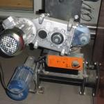 Motoren für die Förderschnecken