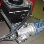 Motor für Stockerschnecke