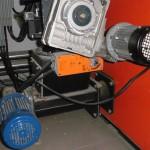 2 Getriebemotoren der Pelletförderung